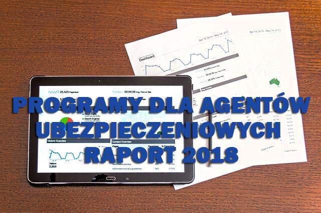 raport programow dla agentow 2018
