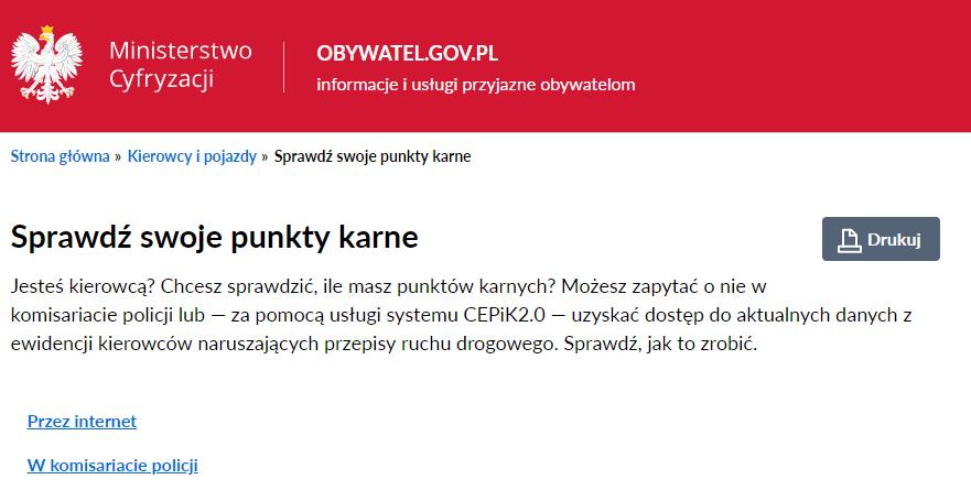 strona obywatel.gov.pl